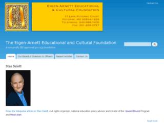 eafoundation.com screenshot