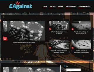 eagainst.com screenshot