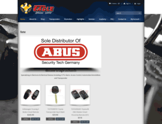 eagle-locksmith.com screenshot