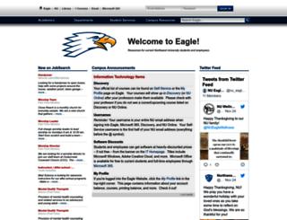 eagle.northwestu.edu screenshot