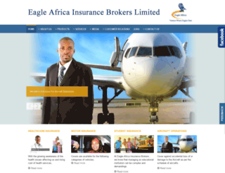 eagleafrica.co.ke screenshot