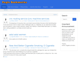 eaglebookmarks.com screenshot