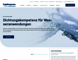 eagleburgmann.com screenshot