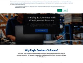 eaglebusinesssoftware.com screenshot