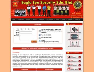 eagleeyesecurity.com.my screenshot