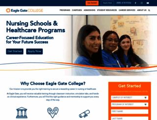 eaglegatecollege.edu screenshot