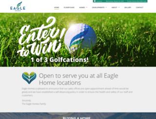 eaglehomes.ca screenshot