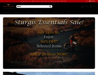 eagleleather.com screenshot