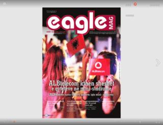 eaglemag.al screenshot