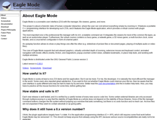 eaglemode.sourceforge.net screenshot