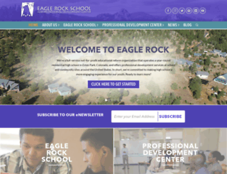 eaglerockschool.org screenshot