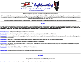eaglescout.org screenshot