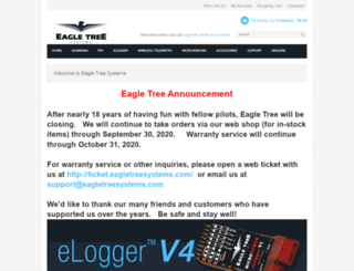 eagletreesystems.com screenshot
