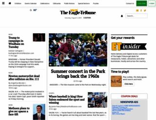 eagletribune.com screenshot