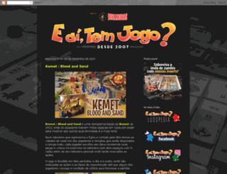 eaitemjogo.blogspot.com.br screenshot
