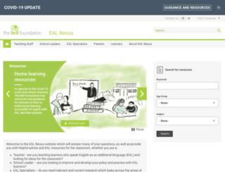 eal.britishcouncil.org screenshot