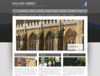 ealingmonks.org.uk screenshot