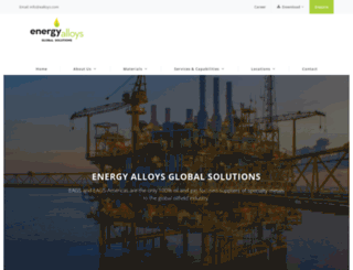 ealloys.com screenshot
