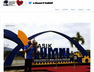 ealumni.unimap.edu.my screenshot