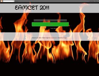 eamcet2011.blogspot.com screenshot