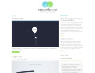 eamonthomas.com screenshot