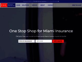 eandlinsurance.com screenshot