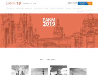 eanm18.eanm.org screenshot