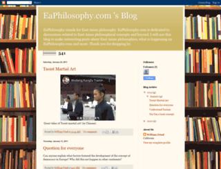 eaphilosophy.blogspot.com screenshot