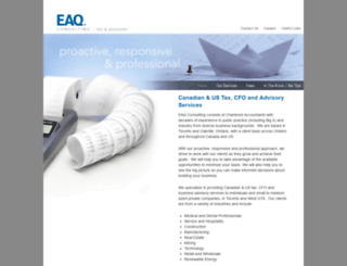 eaqconsulting.com screenshot