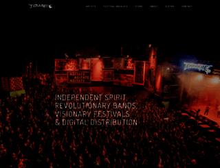 earache.com screenshot
