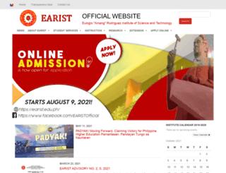 earist.edu.ph screenshot