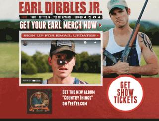 earldibblesjr.com screenshot