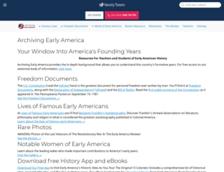 earlyamerica.com screenshot