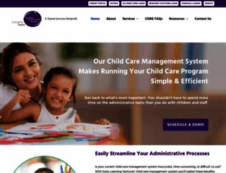 earlylearningventures.org screenshot