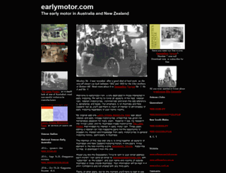 earlymotor.com screenshot