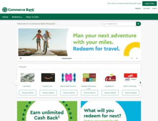 earn.commercebank.com screenshot
