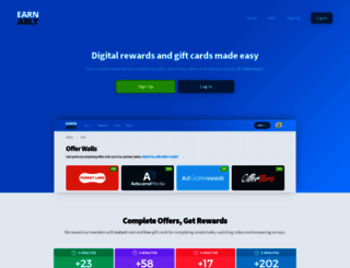 earnably.com screenshot
