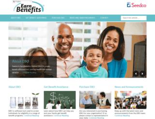 earnbenefits.org screenshot