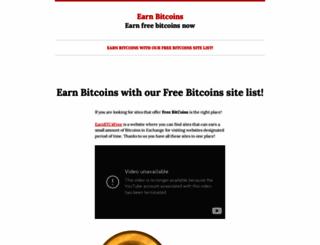 earnbtc4free.wordpress.com screenshot