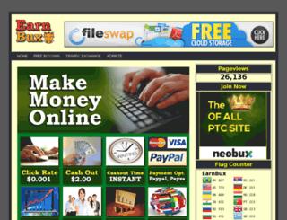 earnbux.in screenshot