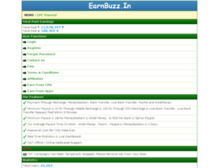 earnbuzz.in screenshot