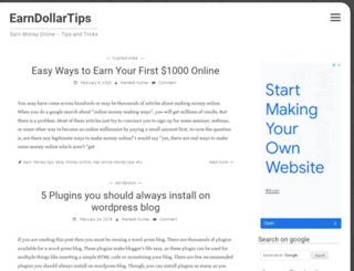 earndollartips.com screenshot