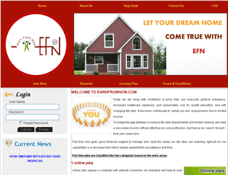 earnfromnow.com screenshot