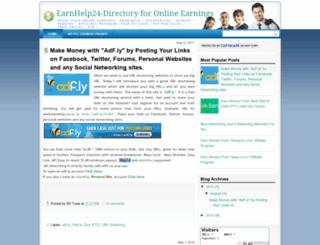 earnhelp24.blogspot.com screenshot