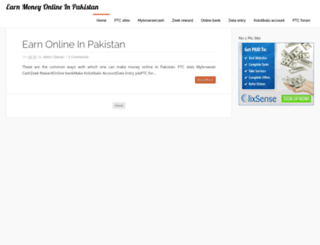 earningpakistan786.blogspot.in screenshot