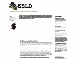 earningsource-link-directory.blogspot.com screenshot