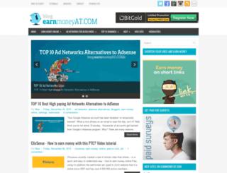 earnmoneyjustsurfing.blogspot.com screenshot