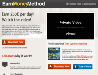 earnmoneymethod.com screenshot