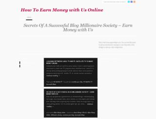earnmoneywithus.wordpress.com screenshot