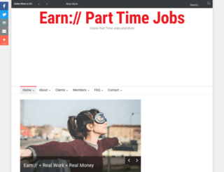 earnparttimejobs.com screenshot